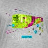 Berlin is like a colorful journey T-Shirts - Männer Vintage T-Shirt