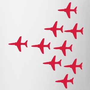 Red Arrows Vulcan 2007 Formation for Ladies - Mug