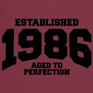 aged to perfection established 1986 (pl) Koszulki - Fartuch kuchenny