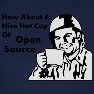 How About A Nice Hot Cup Of OPEN SOURCE T-Shirts - Baseball Cap