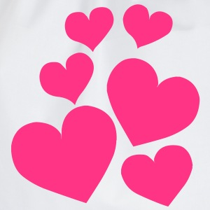 Heart Love T-Shirts - Drawstring Bag