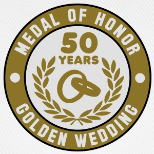 MEDAL OF HONOR 50th GOLDEN WEDDING 3C T-Shirt - Baseball Cap