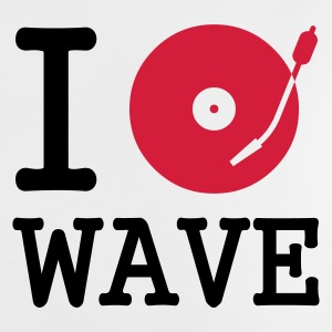 :: I dj / play / listen to wave :-: - Baby-T-shirt