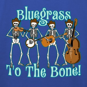 Bluegrass To The Bone! T-Shirts - Kids' Premium Hoodie