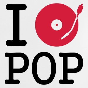 :: I dj / play / listen to pop :-: - Camiseta bebé