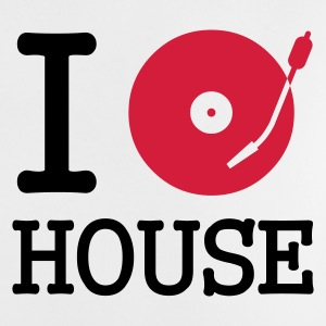 :: I dj / play / listen to house :-: - T-shirt Bébé