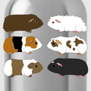 six guinea pigs 1 T-shirts - Drinkfles