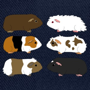 six guinea pigs 1 Tee shirts - Casquette snapback