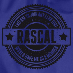 Vintage RASCAL quotes - Not in that club Magliette - Sacca sportiva