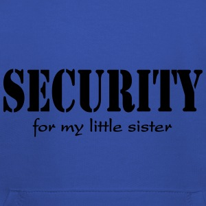 Security for my little Sister T-shirts - Premium-Luvtröja barn
