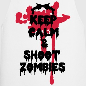 Keep calm and shoot zombies - Grembiule da cucina