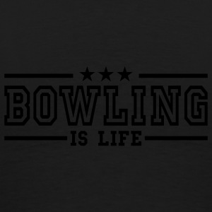 bowling is life deluxe Vestes - T-shirt Premium Homme