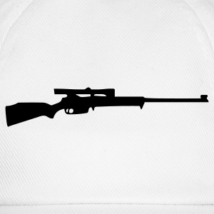 gun rifle weapon Camisetas - Gorra béisbol