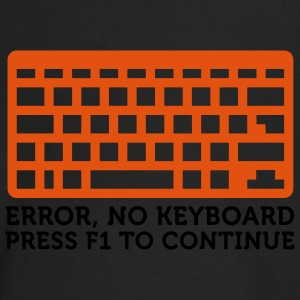 Error No Keyboard (2c) Kinder T-Shirts - Baby Langarmshirt
