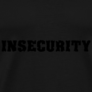 INSECURITY cap - T-shirt Premium Homme