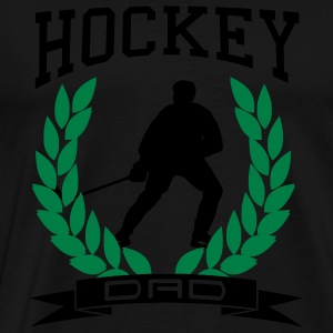 Hockey Dad Hoodies & Sweatshirts - Men's Premium T-Shirt