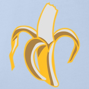 a half-eaten banana Accessories - Organic Short-sleeved Baby Bodysuit
