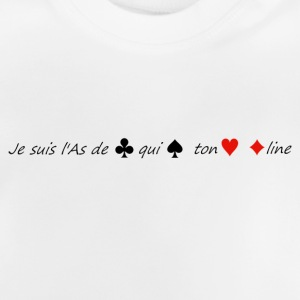 L'as de trèfle... - T-shirt Bébé