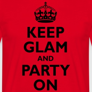 keep_glam  Aprons - Men's T-Shirt