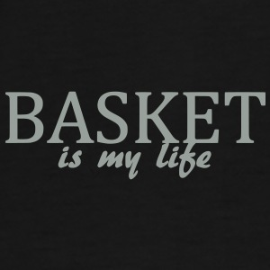 basket is my life Bags  - Men's Premium T-Shirt
