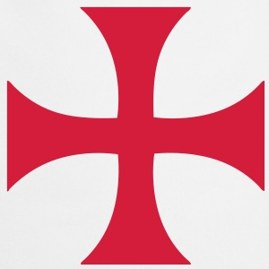 cross_of_the_templars Tee shirts - Tablier de cuisine