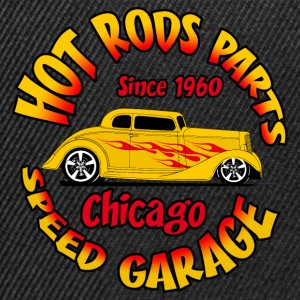 hot_rod_parts_design_6 Tee shirts - Casquette snapback