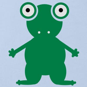 Frog Accessories - Organic Short-sleeved Baby Bodysuit