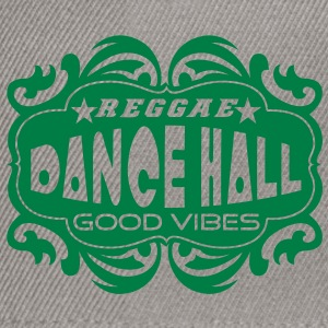 reggae dance hall good vibes Sweat-shirts - Casquette snapback