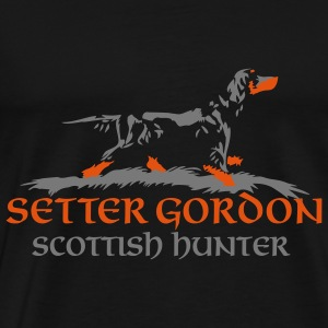 setter_gordon_scottish_hunter Felpe - T-shirt Premium Homme