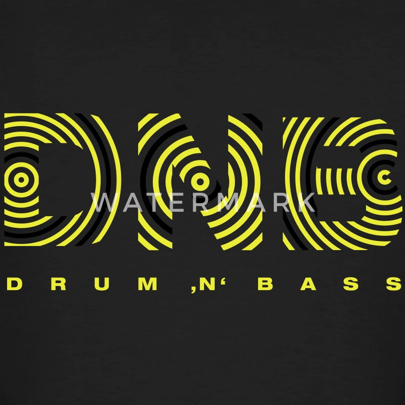 Drum 'n' Bass circle 2 T-Shirts - Männer Bio-T-Shirt
