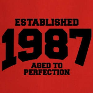aged to perfection established 1987 (fi) T-paidat - Esiliina