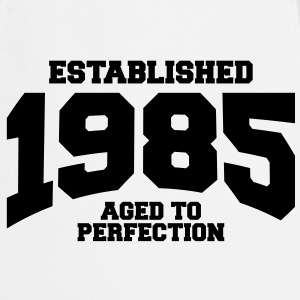 aged to perfection established 1985 (fi) T-paidat - Esiliina