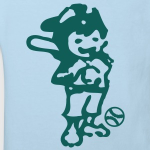 Baseball player boy Baby One -piece - Kids' Organic T-shirt