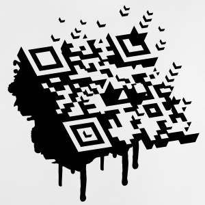 A 3D bar code as a graffiti Accessories - Baby T-Shirt