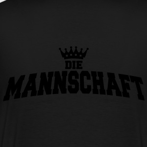 die mannschaft with crown Vestes & gilets - T-shirt Premium Homme