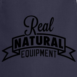 Real Natural Equipment T-Shirts - Cooking Apron