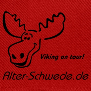 Viking in tour Elch Shirt Alter Schwede - Snapback Cap