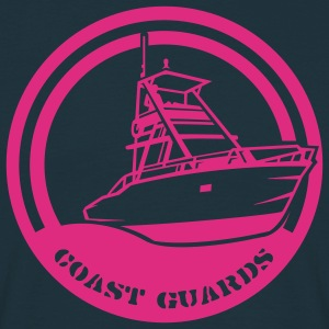 Navy Coast Guards Men's Longsleeves - Men's T-Shirt