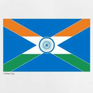 White India Scotland Mixed Flag Accessories - Baby T-Shirt