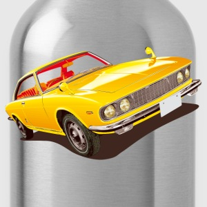 Rot retro car T-Shirts - Trinkflasche