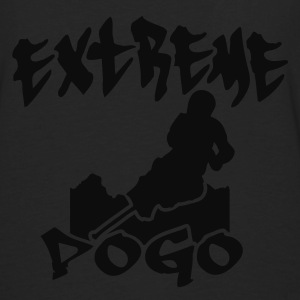 Black Extreme Pogo Skyline Coats & Jackets - Men's Premium Longsleeve Shirt