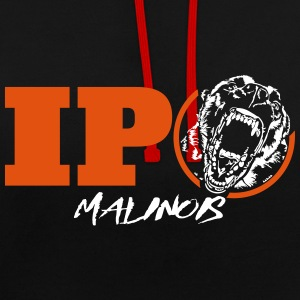 IPO MALINOIS - malinois - Sweat-shirt contraste
