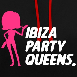 Ibiza Party Queens - Kontrastluvtröja