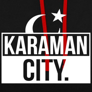 Karaman City Turkey - Contrast Colour Hoodie