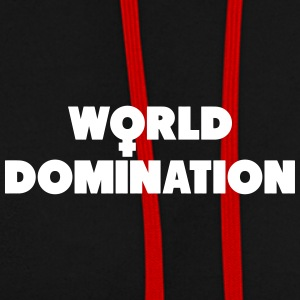 La domination du monde - Sweat-shirt contraste