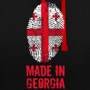 Made in Georgia / Made in Georgia საქართველო - Contrast Colour Hoodie