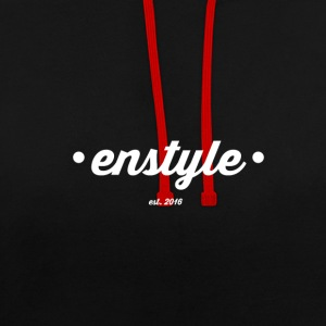 sac Enstyle - Sweat-shirt contraste