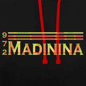 Madinina - 972 - Contrast Colour Hoodie
