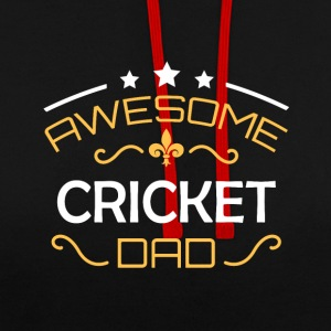 papa Cricket - Sweat-shirt contraste