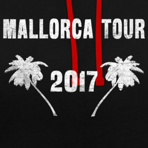Visite Malle 2017 - T-shirt Malle - Sweat-shirt contraste